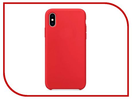 Аксессуар Чехол APPLE iPhone XS Silicone Case Product Red MRWC2ZM/A