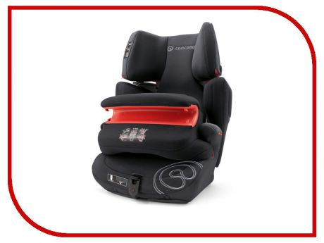 Автокресло группа 1/2/3 (9-36 кг) Concord Transformer T Pro Isofix Midnight Black
