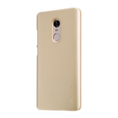 Чехол Nillkin Super Frosted Shield для Xiaomi Redmi Note 4 Gold