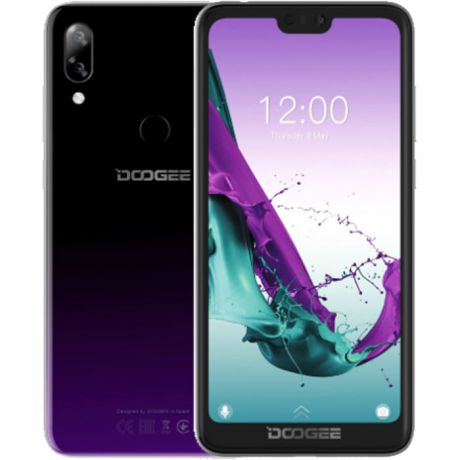 Смартфон Doogee Y7 Purple