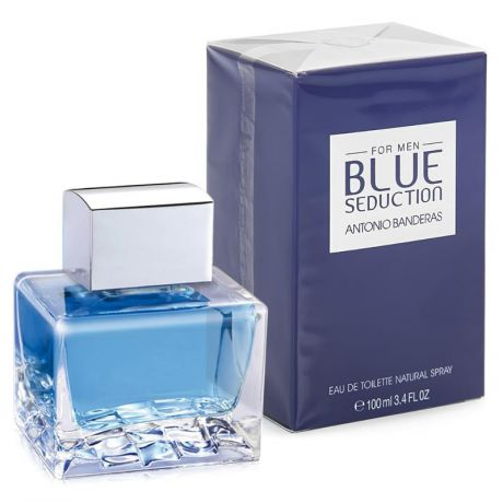 Туалетная вода Antonio Banderas Blue Seduction Man, 100 мл