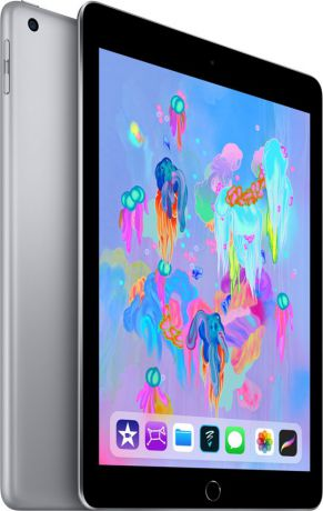 Планшет Apple iPad (2018) 128Gb Wi-Fi (серый космос) MR7J2RU-A