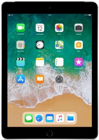 Планшет Apple iPad (2018) 128Gb Wi-Fi + Cellular (серый космос) MR722RU-A