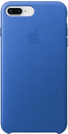 Клип-кейс Apple Leather Case для iPhone 8 Plus/7 Plus (синий электрик)
