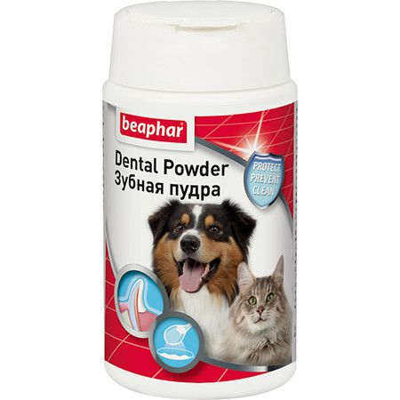 Beaphar Пудра Beaphar Dental Powder зубная - 75 г