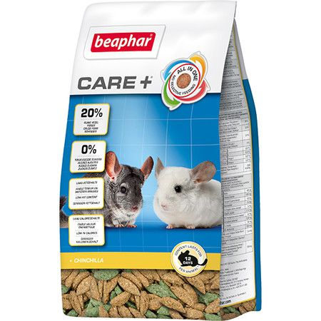 Beaphar Корм Beaphar Care + для шиншилл - 0,25 кг