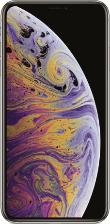 Мобильный телефон Apple iPhone XS Max 64GB (серебристый)