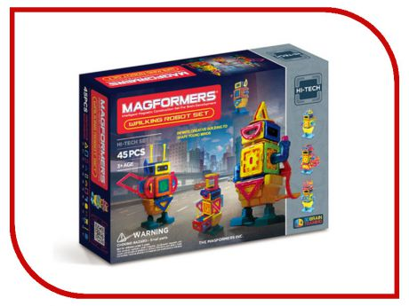 Конструктор Magformers Walking Robot 63137
