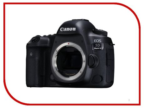 Фотоаппарат Canon 5D Mark IV Body