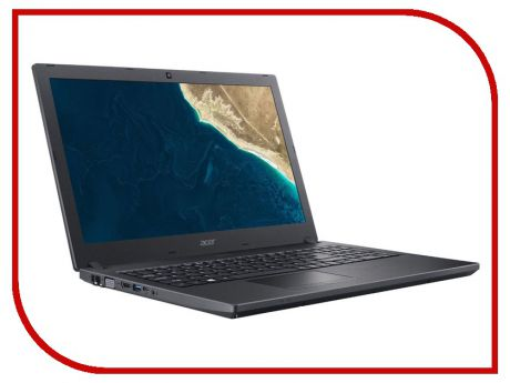 Ноутбук Acer TravelMate TMP2510-G2-MG-5746 Black NX.VGXER.011 (Intel Core i5-8250U 1.6 GHz/4096Mb/500Gb/nVidia GeForce MX130 2048Mb/Wi-Fi/Bluetooth/Cam/15.6/1920x1080/Linux)