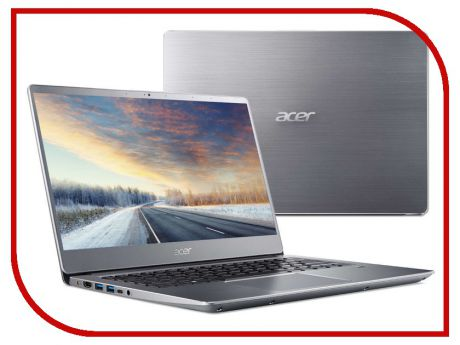 Ноутбук Acer Swift 3 SF314-56-5403 Silver NX.H4CER.004 (Intel Core i5-8265U 1.6 GHz/8192Mb/256Gb SSD/No ODD/Intel HD Graphics/Wi-Fi/Bluetooth/Cam/14.0/1920x1080/Linux)