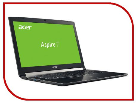 Ноутбук Acer Aspire A717-71G-58RK NH.GPFER.006 Black (Intel Core i5-7300HQ 2.5 GHz/8192Mb/1000Gb + 128Gb SSD/No ODD/nVidia GeForce GTX 1060 6144Mb/Wi-Fi/Cam/17.3/1920x1080/Linux)
