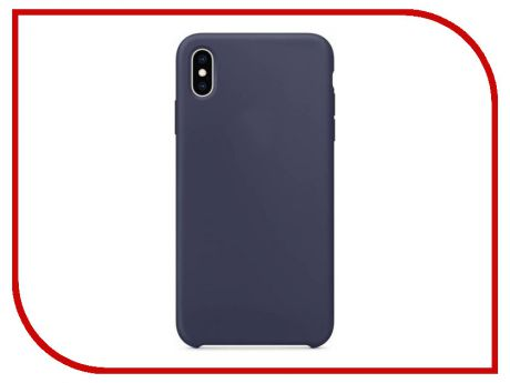 Аксессуар Чехол APPLE iPhone XS Max Silicone Case Midnight Blue MRWG2ZM/A