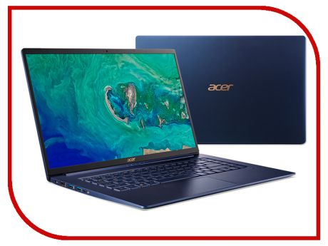 Ноутбук Acer Swift 5 SF515-51T-71L2 NX.H69ER.004 (Intel Core i7-8565U 1.8 GHz/8192Mb/512Gb SSD/Intel HD Graphics/Wi-Fi/Bluetooth/Cam/15.6/1920x1080/Touchscreen/Windows 10 64-bit)