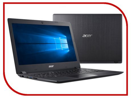 Ноутбук Acer Aspire A315-53-37WA Black NX.H2BER.011 (Intel Core i3-7020U 2.3 GHz/8192Mb/128Gb SSD/Intel HD Graphics/Wi-Fi/Bluetooth/Cam/15.6/1920x1080/Windows 10)