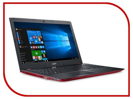 Ноутбук Acer Aspire E5-576G-5219 Red NX.GVAER.002 (Intel Core i5-7200U 2.5 GHz/8192Mb/1000Gb/DVD-RW/nVidia GeForce MX130 2048Mb/Wi-Fi/Bluetooth/Cam/15.6/1920x1080/Linux)