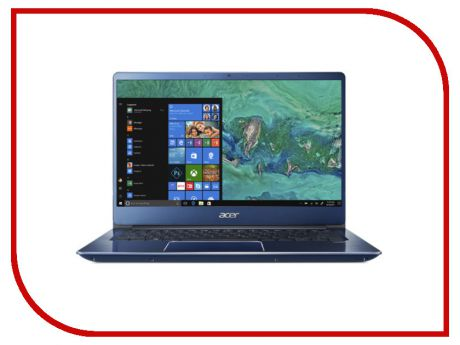 Ноутбук Acer Swift 3 SF314-54G-554T Blue NX.GYJER.004 (Intel Core i5-8250U 1.6 GHz/8192Mb/256Gb SSD/nVidia GeForce MX150 2048Mb/Wi-Fi/Bluetooth/Cam/14.0/1920x1080/Linux)
