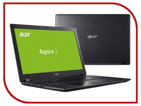 Ноутбук Acer Aspire A315-51-36UW Black NX.GNPER.006 (Intel Core i3-6006U 2.0 GHz/8192Mb/256Gb SSD/Intel HD Graphics/Wi-Fi/Bluetooth/Cam/15.6/1920x1080/Windows 10)