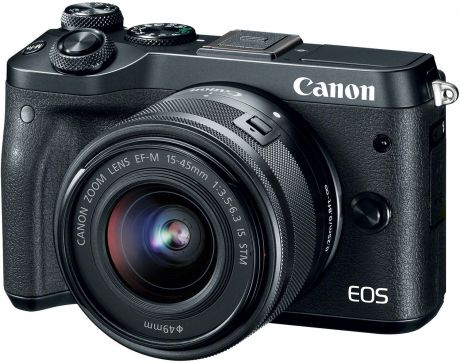 Canon EOS M6 15-45 IS STM (черный)