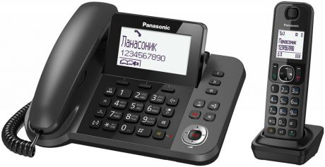 Panasonic KX-TGF320 (черный)