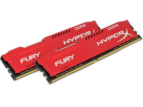 Оперативная память Kingston HyperX Fury (HX432C18FR2K2/16) DIMM 16GB (2x8GB) DDR4 3200MHz DIMM 288-pin x 2/PC-25600/CL18
