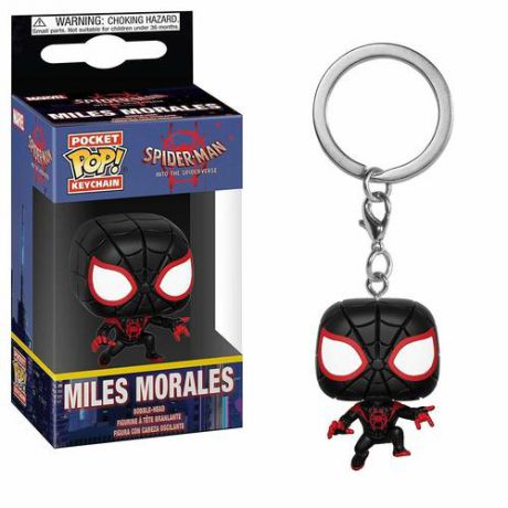 "Брелок POP! Keychain ""Spider-Man Into The Spider-Verse. S-M Miles"""