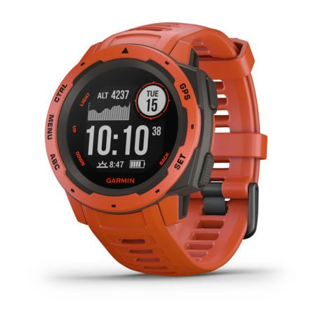 Прочные GPS-часы Garmin Instinct Flame Red