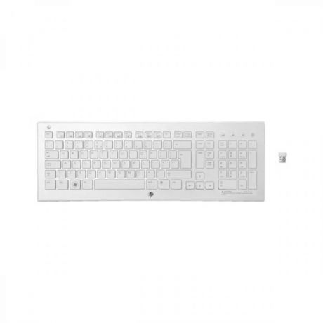 Клавиатура HP K5510 Wireless Keyboard White H4J89AA