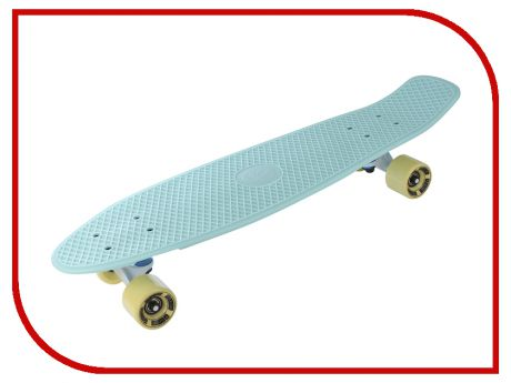 Скейт Y-SCOO Big Fishskateboard 27 Turquoise