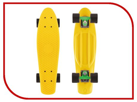 Скейт Y-SCOO Big Fishskateboard 27 Yellow-Green-Black 402-G
