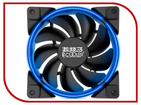Вентилятор PCcooler Corona 120mm Blue