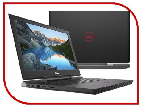 Ноутбук Dell G5 5587 Black G515-7398 (Intel Core i5-8300H 2.3 GHz/8192Mb/1000Gb+128Gb SSD/nVidia GeForce GTX 1060 6144Mb/Wi-Fi/Bluetooth/Cam/15.6/1920x1080/Windows 10 64-bit)
