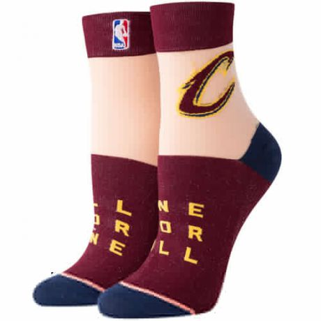 Носки STANCE NBA ARENA CAVS ANKLET (Red, one size)