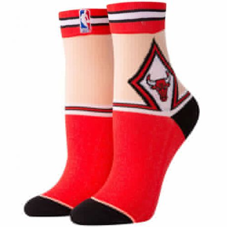 Носки STANCE NBA ARENA BULLS ANKLET (Red, one size)