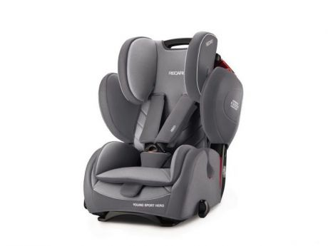 Автокресло группа 1/2/3 (9-36 кг) Recaro Young Sport Hero Alluminum Grey