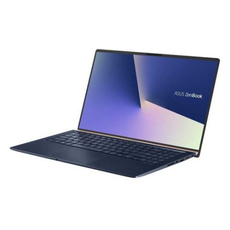 "Ноутбук ASUS Zenbook UX533FD-A8081T, 15.6"", Intel Core i5 8265U 1.6ГГц, 8Гб, 512Гб SSD, nVidia GeForce GTX 1050 MAX Q - 2048 Мб, Windows 10, 90NB0JX1-M01170, темно-синий"