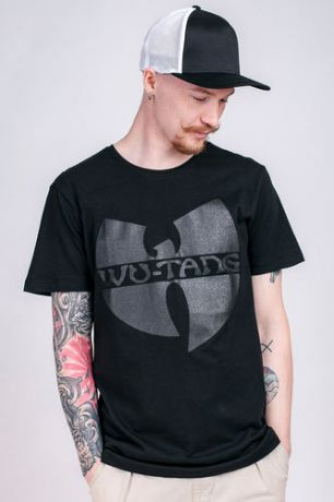 Футболка WU-WEAR Black Logo T-Shirt (Black, 2XL)