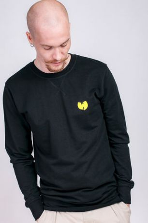 Толстовка WU-WEAR Front-Back Crewneck (Black, 2XL)