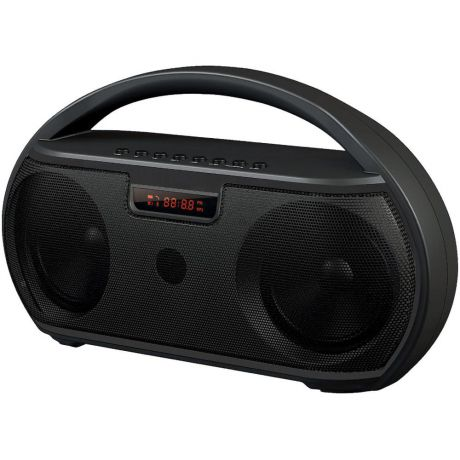 Портативная bluetooth-колонка Ginzzu GM-879B Black