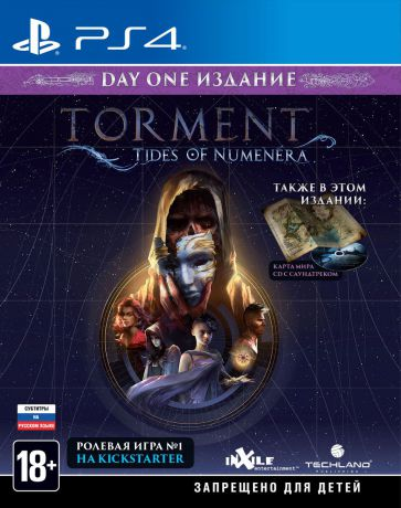 Torment: Tides of Numenera. Day One Edition (PS4)