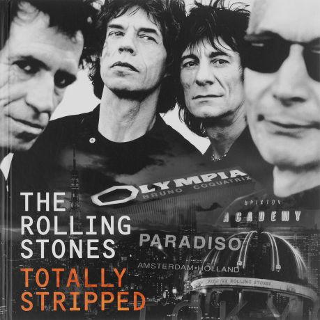 """The Rolling Stones"" The Rolling Stones. The Totally Stripped. Deluxe Edition (CD + 4 DVD)"