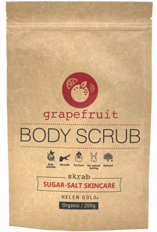 Скраб Helen Gold Grapefruit Sugar-Salt Scrub