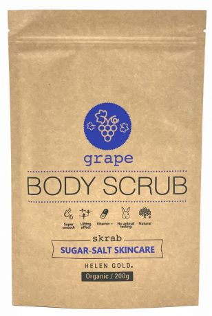 Скраб Helen Gold Grape Sugar-Salt Scrub