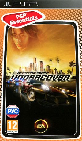 Need for Speed: Undercover. Essentials (PSP)