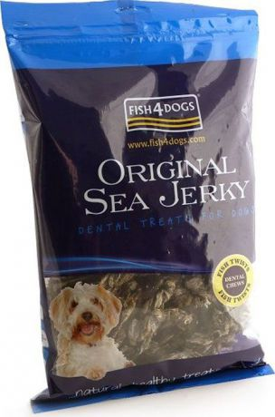 "Лакомство для собак Sea Jerky ""Fish Twists"", с рыбой, 500 г"