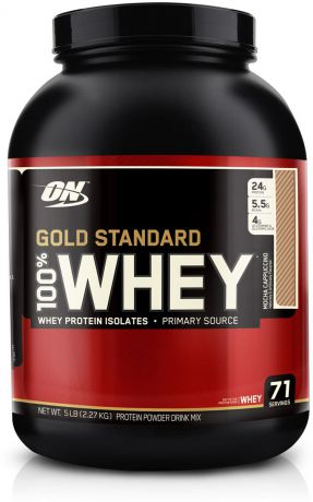 "Протеин Optimum Nutrition ""100% Whey Protein Gold Standard"", мокко капучино, 2,26 кг"