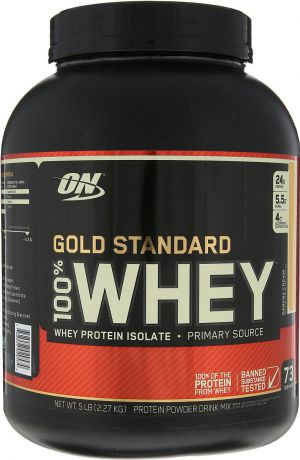 "Протеин Optimum Nutrition ""100% Whey Protein Gold Standard"", банан, 2,26 кг"