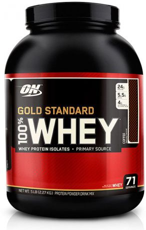 Протеин Optimum Nutrition 100% Whey Gold Standard Coffee, кофе, 2,27 кг