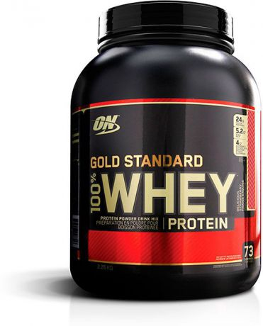 Протеин Optimum Nutrition 100% Whey Gold Standard Delicious Strawberry, восхитительная клубника, 2,27 кг