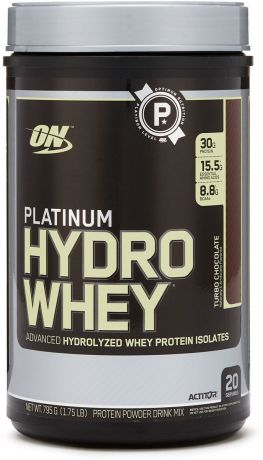 "Протеин Optimum Nutrition ""Platinum HydroWhey"", шоколад, 790 г"